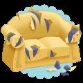 Scratched Sofa