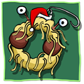 Flying Spaghetti Monster Wreath
