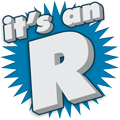 It's an R!