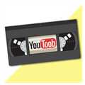 Youtube on VHS