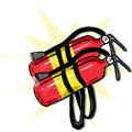 Fire Extinguisher Jet Pack